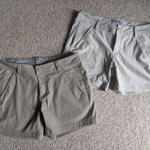 2 Pair of Royal Robbins Shorts